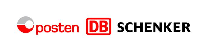 Vi sender med posten og DB SChenker